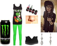 """""""Untitled #105"""" by courtney-rainbow1 ❤ liked on Polyvore"""