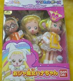 Bandai Magical Ojamajo Do Re Mi Hana Chan Hazuki Momoko 3 Doll Figure Set Sale