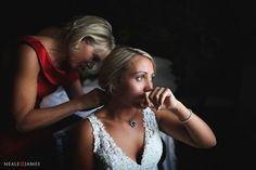 Documentary wedding photographs and reportage photography