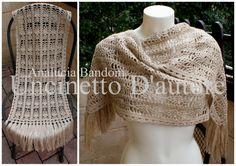 stola uncinetto crochet shawl xale croche