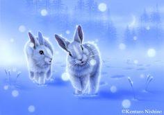 """Together"" Rabbits  2009"