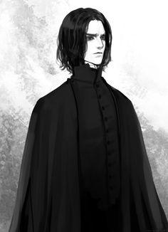 Severus Snape by eliz7 on DeviantArt