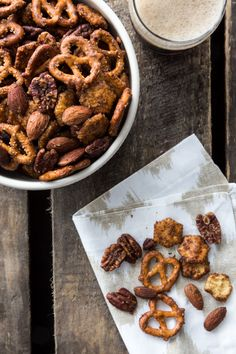 Sweet & Spicy Snack Mix | My Baking Addiction
