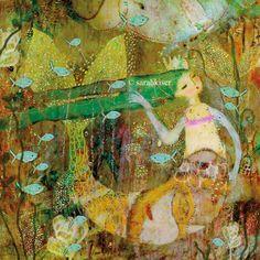 Fine Art Print by Sarah Kiser To Kiss a Mermaid