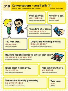 318 Learn Korean Hangul Conversations- small talk 2