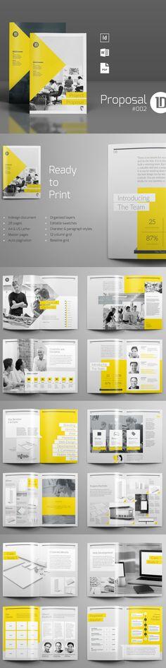 Brochure / Magazine Template on CreativeMarket, A4, A5