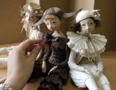 Art dolls by Tamara Pivnyuk