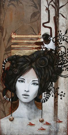 Sophie Wilkins ~ Canadian Magic Realism painter