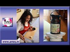 Como preparar una base metálica para pintar con acrílicos - YouTube