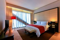 Book your stay at W Doha, a luxury lifestyle hotel offering contemporary accommodations, a Bliss® Spa and lively experiences in the West Bay business district of Doha. Bliss Spa, Doha, Hotel Offers, Luxury Lifestyle, Contemporary, Bedroom, Furniture, Home Decor, Decoration Home