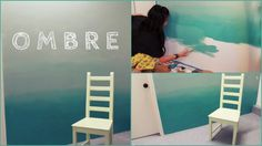 Image result for ombre wall diy