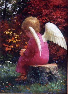 A tu vida llegan ángeles en forma humana ,no dudes es un  regalos de Dios  .trae un cofre cargado de Amor que llenara tu vacío en tu alma.