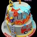 Fireman Sam & Friends Cake, Feuerwehr Kuchen