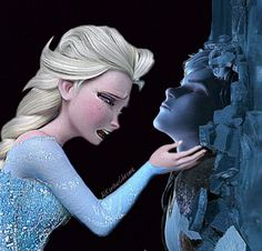 So sad Jelsa, Jack Frost And Elsa, Cartoon Crossovers, Disney Crossovers, Disney Princess Pictures, Rise Of The Guardians, Queen Elsa, The Big Four, Disney And Dreamworks