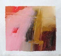 """Esencia.  El Alma en si misma  Proyecto """"En Esencia"""" Pigmento, resina / lienzo 15×15 Proceso aditivo en un único sentido; negro, rojo, ocre, blanco."""