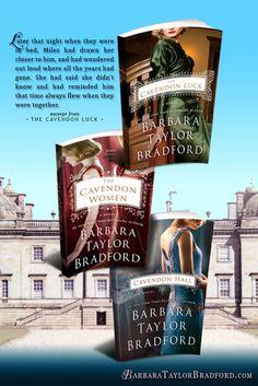cavendon hall cavendon chronicles book 1 bradford barbara taylor