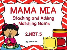 Math Center for practicing 2.NBT.5-adding within 100.