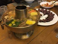 이북식 신선로(북한 음식) - 동무밥상 02-322-6632 주소:서울 마포구 합정동 381-64