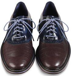 Cole Haan Colton Winter Saddle Oxfords men's dress shoes.
