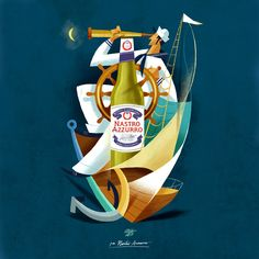 Nastro Azzurro on Behance