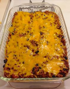 Sure Fire Chili & Quinoa Bake. You will love this!! 21 Day Fix approved! foodfunandexercise.com