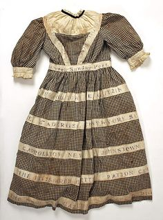 Dress  Date: late 19th–early 20th century Culture: American
