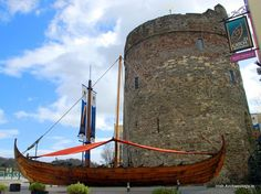 Reginald's Tower, Waterford city, Ireland. This impressive late 12th century tower was an integral part of Waterford city's defences. It was built on the site of an earlier wooden fortification and it is probably named after Ragnar (Reginald), a former Hiberno-Norse king of the city. This would make it the only surviving Irish building that retains its original Viking name.