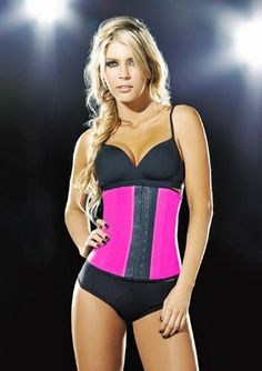 e6038f448696d Train your waist to be flat and toned! This latex deluxe faja fajate waist  trainer cincher is a superior body sha.