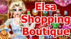 Barbie Games Elsa Shopping Boutique