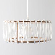 Macaron Oak Lamp, White - 45cm - Lights - EMKO - Space & Shape - 2
