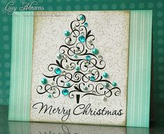 beautiful Christmas tree card :-)