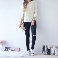 Simple Cute Casual Outfit from Kerina Mango ♡♥♡♥♡♥
