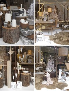 Natural winter decor ideas from a shop in europe
