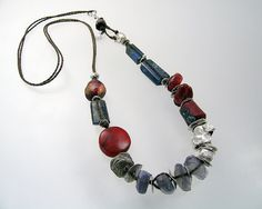 Silver reds ancient glass labradorite kyanite kathy van kleeck: adjusting ...