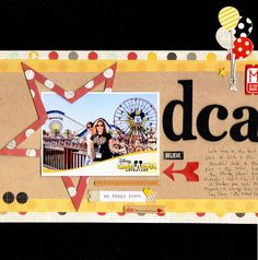 DCA - Scrapbook.com - Love the big star and all the Simple Stories Say Cheese embellishments.