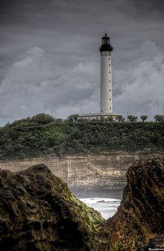 Phare de Biarritz, France - #lighthouses #vuurtorens