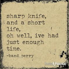 If I Die Young ~ The Band Perry