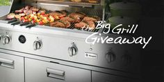 The Big Grill Giveaway - seriously, all you have to do is put in your name and email address.