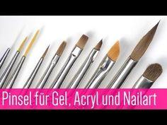 Nageldesign Gel- und Acryl Pinsel von Jolifin by GDN.de #nails #nagelmodellage #jolifin