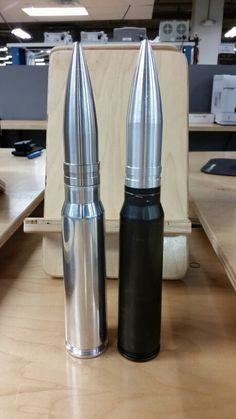 Metal lathed 30mm bullet tip