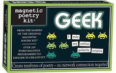 Magnetic Poetry - Geek Kit - Words for Refrigerator - Wri