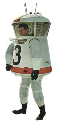 Aerojet Space Suit. Anyone who played with Major Matt Mason as a kid knows this bad boy.