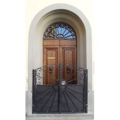 Wrought Iron Pedestrian Gate. Customize Realisations. 088 Pedestrian, Wrought Iron, Tall Cabinet Storage, Mirror, Furniture, Home Decor, Decoration Home, Room Decor, Mirrors