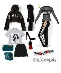 """"""""""" by thexfashionjunkie on Polyvore featuring Gucci and Christian Louboutin"""
