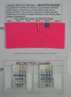 Make a Sewing Machine Needle Organizer - free tutorial – Sew, What's New?