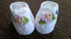 Sapatinhos para Bebê em crochê.