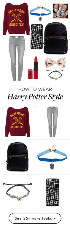 """Random"" by pandapop263 on Polyvore featuring Paige Denim, Madden Girl and Rimmel"