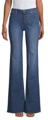 MICHAEL Michael Kors Button-Front Flare Jeans Flare Jeans, Bell Bottoms, Bell Bottom Jeans, Michael Kors, Button, Pants, Fashion, Trouser Pants, Moda