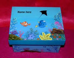 Image result for decorative painting memory box
