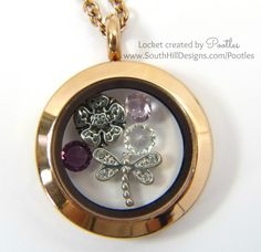 Pootles South Hill Designs - Softness of Rose Gold and Lilacs close up